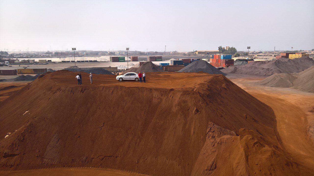 Hematite Iron mining