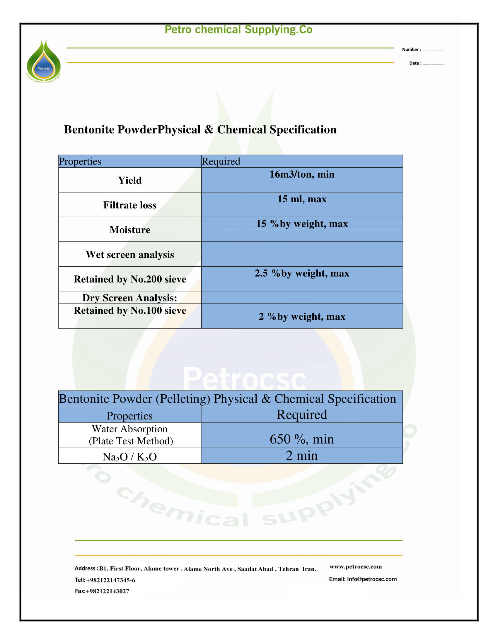 bentonite powder-1